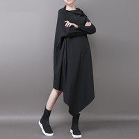 IRREGULAR SOLID DRESS