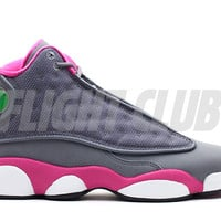 girls air jordan 13 (gs) - cool grey/fusion pink-white - Air Jordans | Flight Club