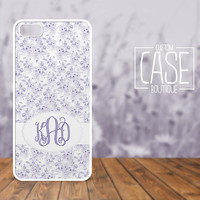 Personalized iPhone 4 / 4s or iPhone 5 Case - Plastic iPhone case - Rubber iPhone case - Monogram iPhone case - CB010