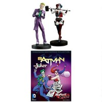 DC Masterpiece Figure Collection Magazine Issue #5 Joker & Harley Quinn |