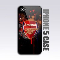 Arsenal fc club - For iPhone 5 Black Case / Cover