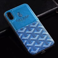 Perfect Goyard  Phone Cover Case For iphone 6 6s 6plus 6s-plus 7 7plus 8 8plus X