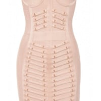 'Abbie' Studded Bandage Dress