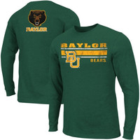 Baylor Bears Warrior Long Sleeve T-Shirt – Green