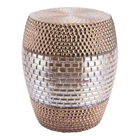 A11413 Pearl Garden Seat Gold