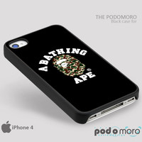 BAPE - A BATHING APE for iPhone 4/4S, iPhone 5/5S, iPhone 5c, iPhone 6, iPhone 6 Plus, iPod 4, iPod 5, Samsung Galaxy S3, Galaxy S4, Galaxy S5, Galaxy S6, Samsung Galaxy Note 3, Galaxy Note 4, Phone Case