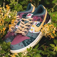 Nike SB DUNK LOW lemon water wash board shoes low-top shoes men and women casual fashion sports shoes