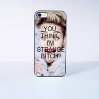 You think I'm Strang Bitch Miley Cyrus  Plastic Case Cover for Apple iPhone 5 5s 6 Plus 6 4 4s  5c