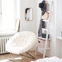 Wall Leaning Storage Rack