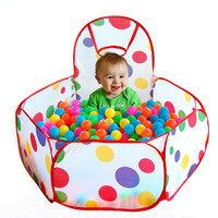 Tent  for Kids Children Ocean Ball Pit Pool Baby Play Tent Outdoor Game Hut Pool Play Tent for Children