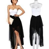 Amazon.com: Krazy Sexy Club Cocktail Party Evening Dress #312 US 0-2 2-4 4-6: Clothing