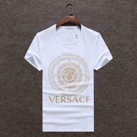 Day-First™ Trendsetter VERSACE Women Man Fashion Print Sport Shirt Top Tee