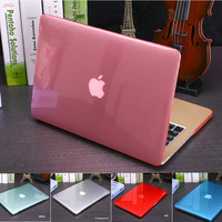 Canton Nalley Crystal\Matte Transparent Case For Apple Macbook Air Pro Retina 11 12 13 15 For Macbook Air 13 Laptop Case Cover