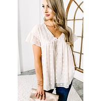 Discovering Love Babydoll Top