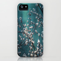 Snowflakes Tree iPhone & iPod Case by Armine Nersisian
