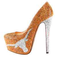 2014-15 Limited Edition Texas Longhorns Crystal Pumps