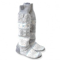 """Shop Now! Ugly Sweaters: """"Ice Princess"""" Ugly Sweater Nordic Knit Muk Luks Boots - New! $20-$28 - The Ugly Sweater Shop"""