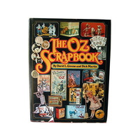 The Oz Scrapbook - Literary History Book - Book Artwork - The Wizard Of Oz History - Bookish Gift - Wizard Art Print - Wizard of Oz Movie