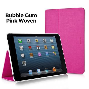 XtremeMac Microfolio Case for iPad Mini, Bubble Gum Pink