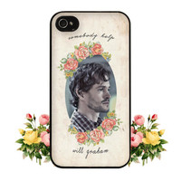 Somebody Help Will Graham Hannibal NBC Fannibal iPhone by fancase