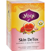 Skin DeTox Herbal Tea - 16 Tea Bags - Case of 6