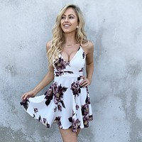 Pure Seduction Floral Skater Dress