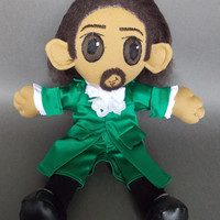 Alexander Hamilton from Hamilton Musical Plush Doll Plushie Toy [Act II outfit]