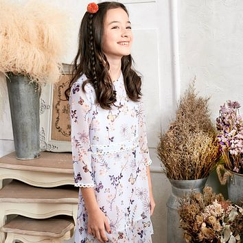 Floral Lace Dress (toddler/girl)