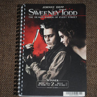 Sweeney Todd Upcycled / Recycled DVD Musical Movie by lulumagoo