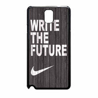 Nike Write Future Wood Samsung Galaxy Note 3 Case