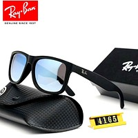 Ray-Ban 2019 new men and women models large frame retro polarized colorful sunglasses #3