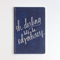 Hand Lettered Calligraphy Travel Journal