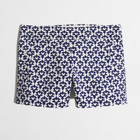 """FACTORY 4"""" PRINTED STRETCH CHINO SHORT"""