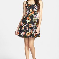 BP. Cutout Skater Dress (Juniors)
