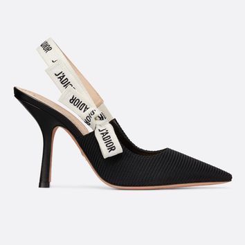 Dior J'ADIOR PUMP IN TECHNICAL CANVAS