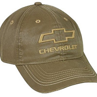 Chevy Weathered Cotton Twill Cap