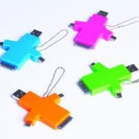 Amazon.com: DCI 29028 Charge and Go Multi-Use USB Phone Charger, Assorted colors - Other Chargers - Including Solar - Retail Packaging - Pink/Green/Blue/Orange: Cell Phones & Accessories