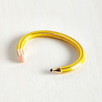 Quirky I've Jot to Hand It to You Bracelet by ModCloth
