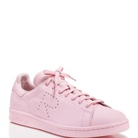 Raf Simons for Adidas Flat Lace-Up Low-Top Sneakers - Stan Smith Trainer