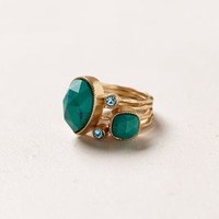 Turquoise Serpentes Ring Set by Anthropologie Turquoise 7 Jewelry