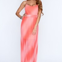 Coral Pleated Sexy Maxi Dress @ Amiclubwear sexy dresses,sexy dress,prom dress,summer dress,spring dress,prom gowns,teens dresses,sexy party wear,women's cocktail dresses,ball dresses,sun dresses,trendy dresses,sweater dresses,teen clothing,evening cockta