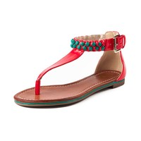 Womens G by Guess Dena Poppy Sandal, Red | Journeys Shoes