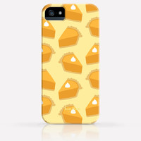 Cute Thanksgiving Pumpkin Pie iPhone 6 Case iPhone 5 Case iPhone 5C Case iPhone 4 Case Samsung Galaxy s5 Case iPhone Hard Plastic Case