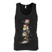 Fairy Tail - Fairy Tail Gang - Unisex Tank Top - SSID2016