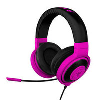 Razer Kraken Pro Neon Purple PC Gaming and Music Headset