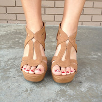 Tan Hurst Wedges