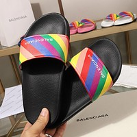 Balenciaga Womens Slides Slippers