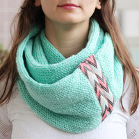 By(knitscarf)Knit-Scarf.g31WithTribalLace,Inf...