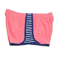 Walk The Line Shorts in Coral by Krass & Co.