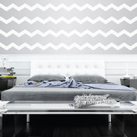 """3"""" Wide Chevrons Wall Decals"""